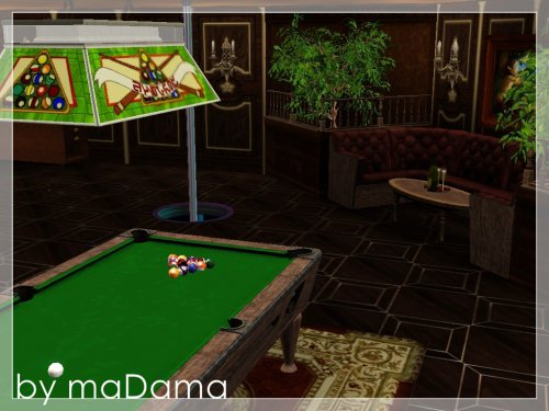 """(Авторская работа) Ночной клуб """"Атмосфера"""" от maDama для Симс 3"""