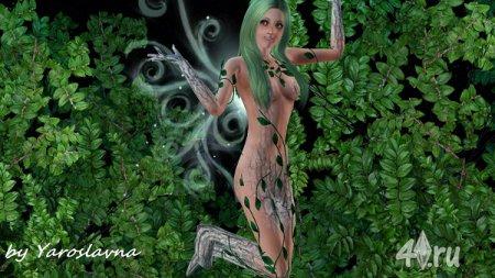 Симка Ева by Yaroslavna для Sims 3