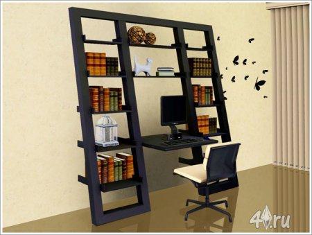 Письменный стол и офисный стул от Severinka для Симс 3 в формате sims3pack