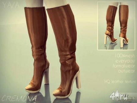 ������ Madlen Cremona Boots by MJ95 ��� The Sims 3