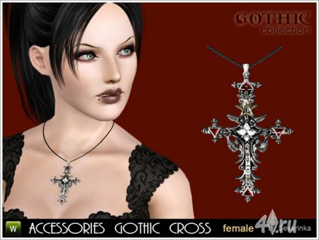 Accessories gothic cross set by Severinka ��� ���� 3