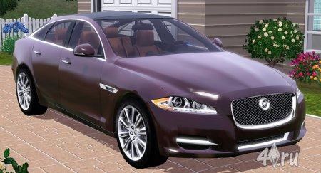 Машина Ягуар (Jaguar XJ) 2012 года от Fresh-Prince для Симс 3 (в формате sims3pack)