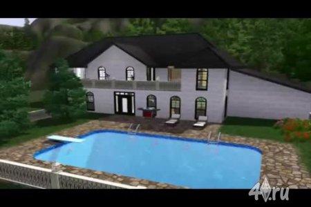 Видеоурок по игре Симс 3. Строим дом для большой семьи