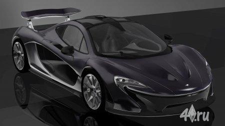 Автомобиль Макларен П1 (McLaren P1) 2014 года от Fresh-Prince для игры Симс 3 в формате sims3pack
