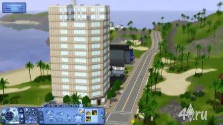 Видеоурок. Как построить небоскреб в Симс 3 от SanchezPlay