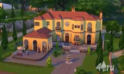 Видеообзор режима строительства в игре The Sims 4