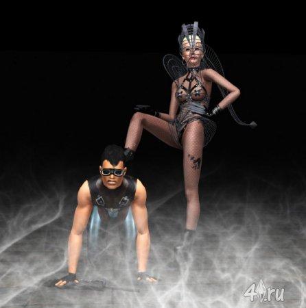 Видеоролик. Sims 3 Machinima Lady Gaga Government Hooker