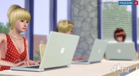 MacBook Pro от Paulean R для Симс 3 в формате sims3pack