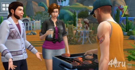 Новые скриншоты из Sims 4