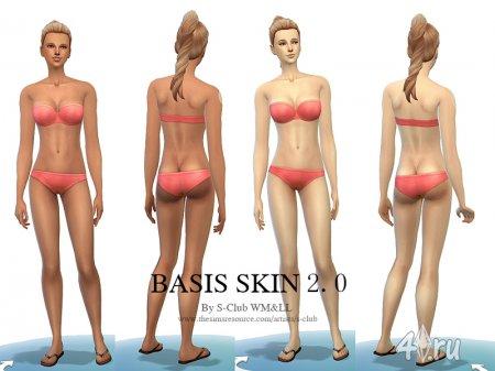 Женские и мужские скинтоны для Симс 4 в формате package
