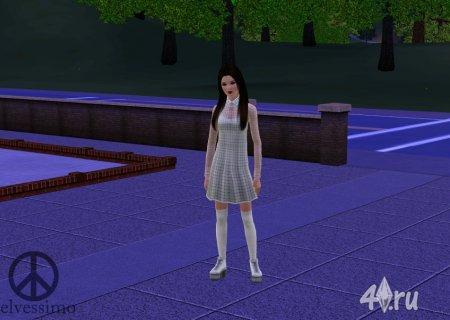 Симка Джейн Исбелл для Sims3 от elvessimo для Симс 3