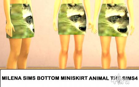 Милая юбочка от Milena sims для Симс 4