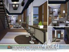 Дом с современным дизайном от autaki для Симс 4