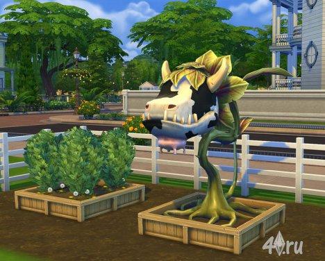 Секреты Sims4. Как можно получить Проглотис Людоедия в игре Симс  4