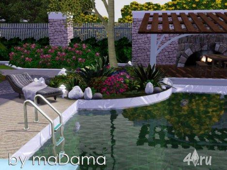 Дом Fiesta by maDama для Симс 3 в формате sims3pack