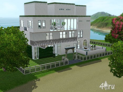 Дом будущего (The house of the future) в формате Sims3Pack By Katrin123