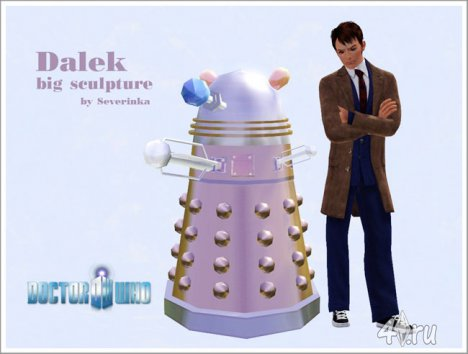������ ��� (Doctor Who) ��� ���� 3 � ������� sims3pack