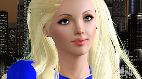 Видеоролик. The Sims 3 Kerli - Supergirl