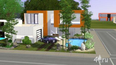 Дом Modern House от Paukovnenado для Sims 3