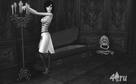 """Сим """"Alice Liddle"""" от Grell Amber для Симс 3 в формате package"""