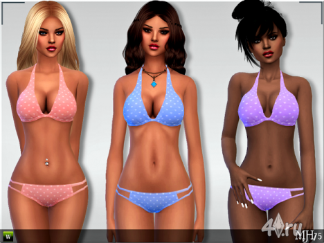 Купальник от Margeh75 для The Sims 4 в формате package