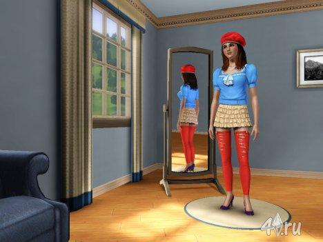 Симка Красная Шапочка для Sims 3
