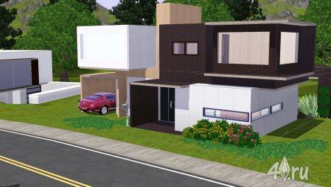 Дом Modern House 04 от Paukovnenado для Симс 3
