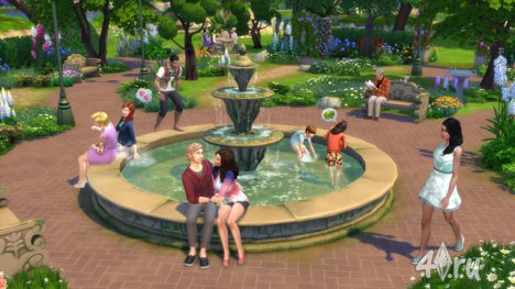 Обзор нового каталог The Sims 4 - Романтический сад