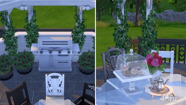 "Дворик в игре The Sims 4 "" The Sims - всё для игр Sims 4, Sims 3, sims 2, sims"