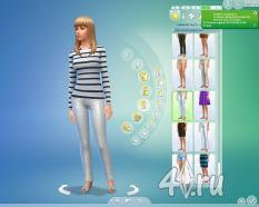 Симка Елена Зест-Холлидей от margo7778 для Sims 4