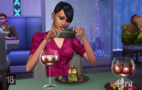 Новый игровой набор The Sims 4: В ресторане
