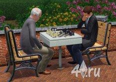 Настольные игры в игре Симс 3 и дополнениях