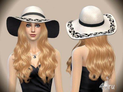 Классическая шляпка для Ваших симочек от Paogae (Sims 4)