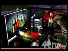 Дискоклуб и бар от autaki для Симс 3 в формате sims3pack