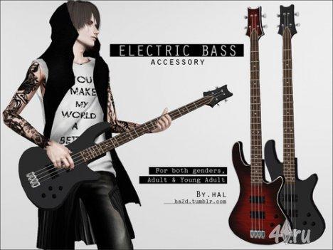Позы гитариста от Hal для Симс 3 в формате package