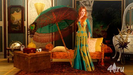Симка Хюрем Султан (Роксолана) из сериала Великолепный век от Modern_Lover для Симс 3 в формате sims3pack