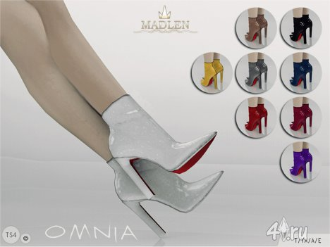 "Сапожки ""Omnia"" от Madlen для Симс 4"