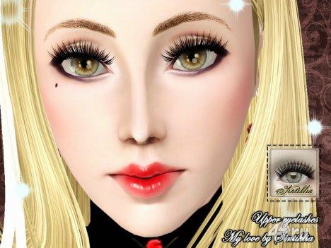 "Набор ресниц ""Моя любовь"" от Sintiklia для Симс 3 в формате sims3pack"