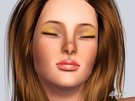 """Тени для век """"Энджи"""" от Juliana для Симс 3 в формате sims3pack"""