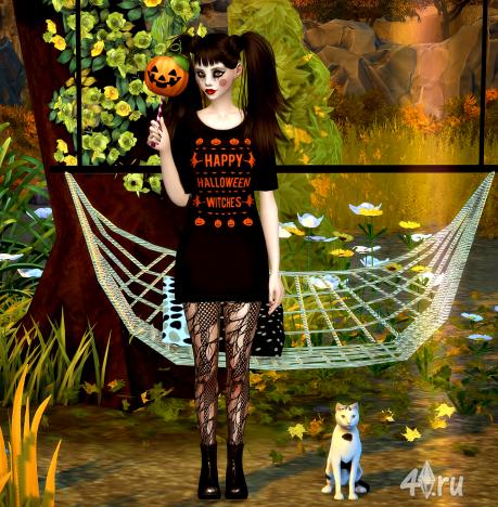Предметы декора для Хэллоуина от Jenisims для Симс 4
