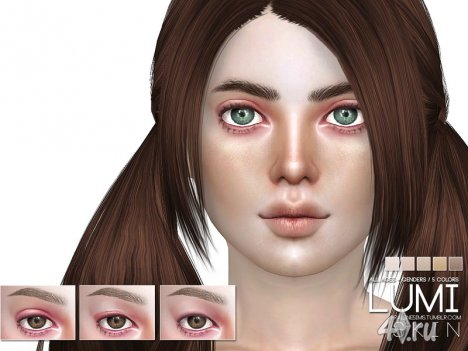 "Скинтон ""Люми"" от Pralinesims для The Sims 4"