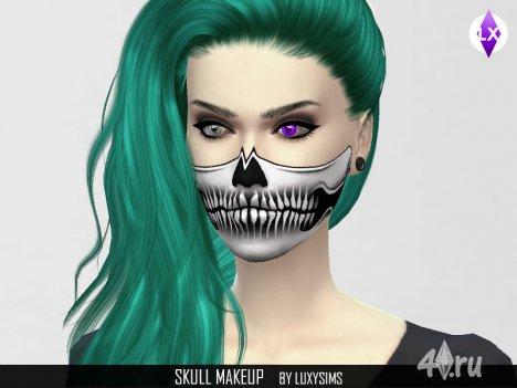 Гримм к Хэллоуину от LuxySims3 для The Sims 4