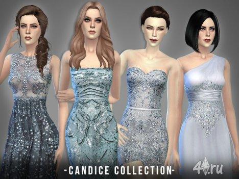 """Коллекция """"Кэндис"""" от -April- для The Sims 4"""
