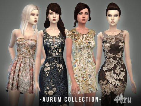 "Коллекция ""Аурум"" от -April- для The Sims 4"