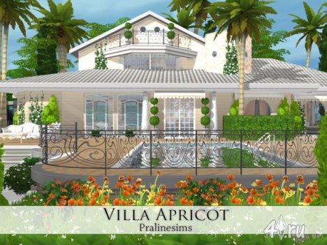 "Вилла ""Абрикос"" от Pralinesims для The Sims 4"