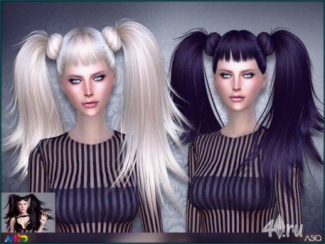 """Прическа """"Азия"""" от Anto для The Sims 4"""