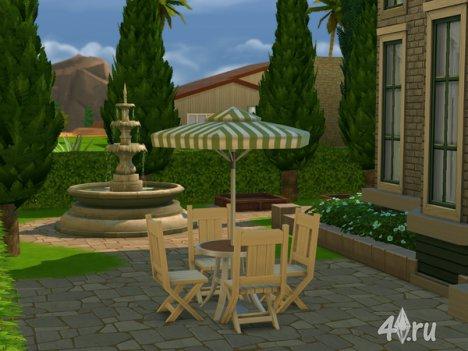 """Имение """"Льюис"""" от Ineliz для The Sims 4"""
