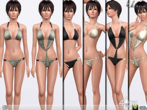 Купальник от Еkinege для The Sims 3
