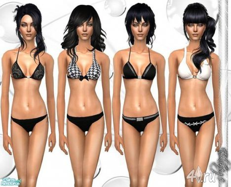 Нижнее белье от Еkinege для The Sims 2