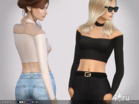 """Топ """"Анна"""" от Тoksik для The Sims 4"""